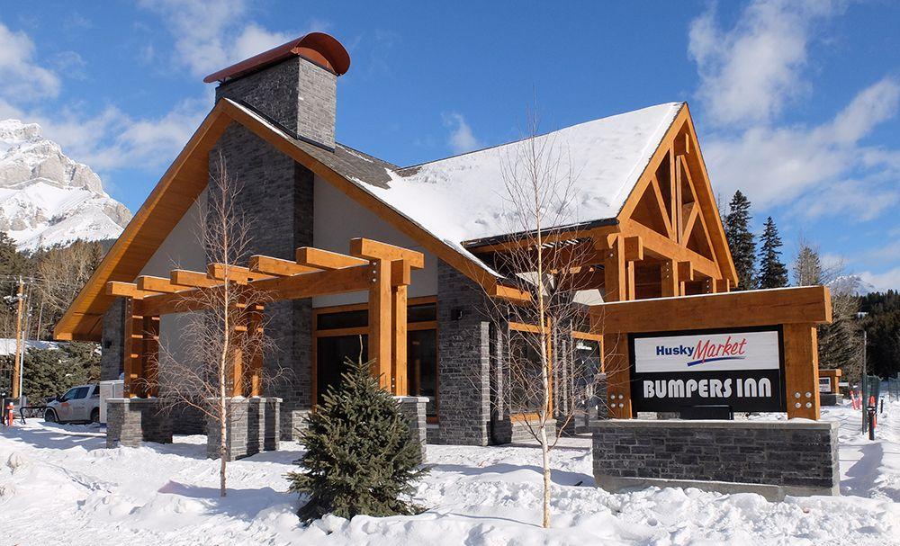New Husky Site Basks in Banff's Beauty